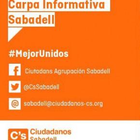 Carpa C´s Sabadell sábado 29