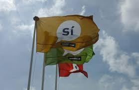 Cs Sabadell registra en el Ayuntamiento una petición para que se retire de las calles la publicidad del 1-O