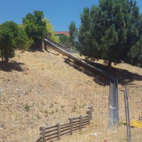 Ciudadanos (Cs) Sabadell reclama que vuelva a funcionar el emblemático tobogán del Parc de la Romeua