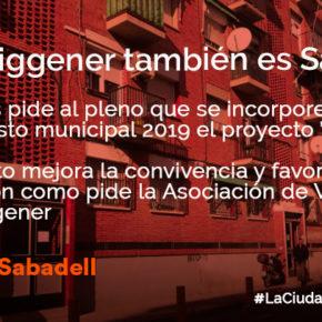 Ciudadanos (Cs) pedirá en el pleno que el gobierno incluya el proyecto A porta de Can Puiggener en los presupuestos
