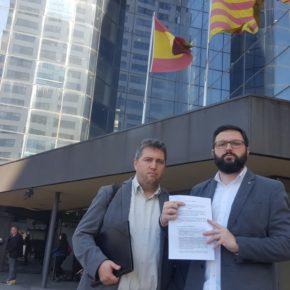 Ciudadanos (Cs) Sabadell denuncia al alcalde ante la Fiscalía por no retirar la pancarta de la fachada del Ayuntamiento