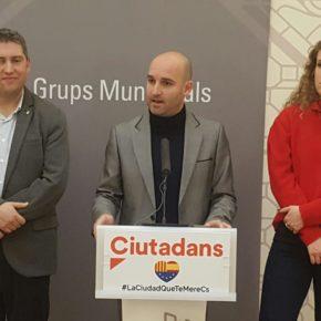 Ciudadanos (Cs) Sabadell ofrece al PSC un pacto de estabilidad sin exigir entrar en el gobierno