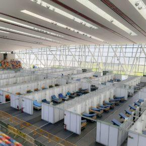 Cs Sabadell demana posar l'hospital temporal de la pista d'atletisme com a centre de macro vacunació COVID