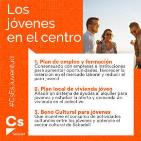 A propuesta de Ciutadans, Sabadell pone a los jóvenes en el centro de sus políticas