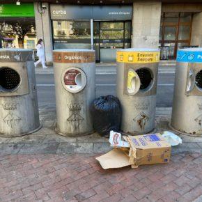 Ciudadanos Sabadell reclama renovar los buzones de recogida de residuos neumática de la ciudad